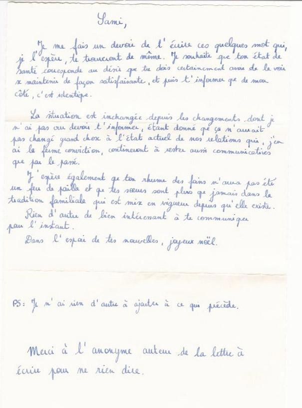 exemple de lettre anonyme Exemple lettre ex | Frefred exemple de lettre anonyme